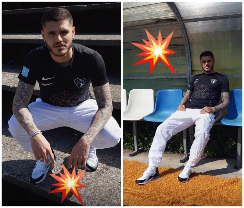Mauro Icardi Dons a Limited-Edition Jersey to Celebrate 40 Years of ... b6e79e533