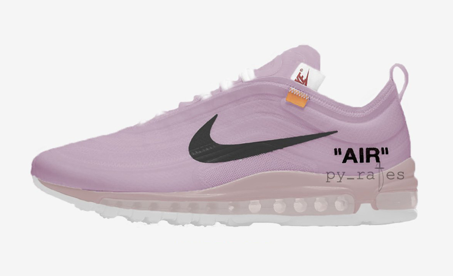 ca6ea26da4ee33 Nike and Off-White Are Set to Release a Rose-Tinted Air Max 97