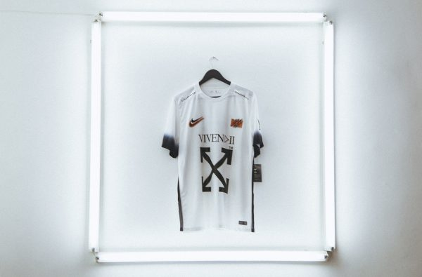 Off-White™ Links up With Nike and Nigerian Brand Vivendii for an Icey Football Jersey