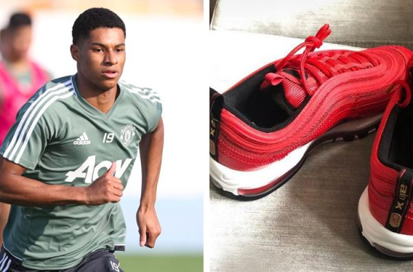 Cristiano Ronaldo Gifted Marcus Rashford a Pair of His Nike Air Max 97 CR7