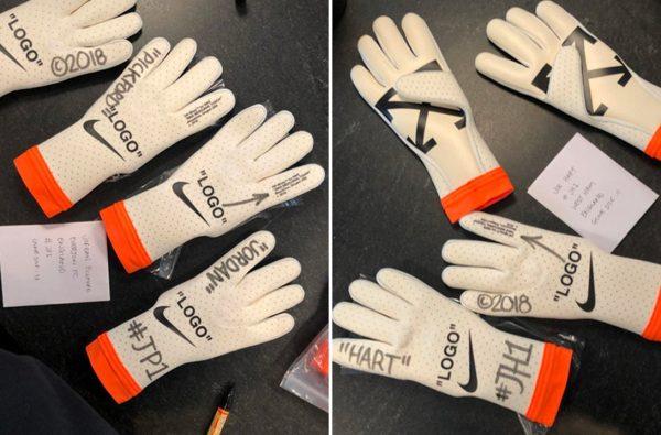 Virgil Abloh Just Revealed Custom Off-White™ x Nike Goalkeeper Gloves
