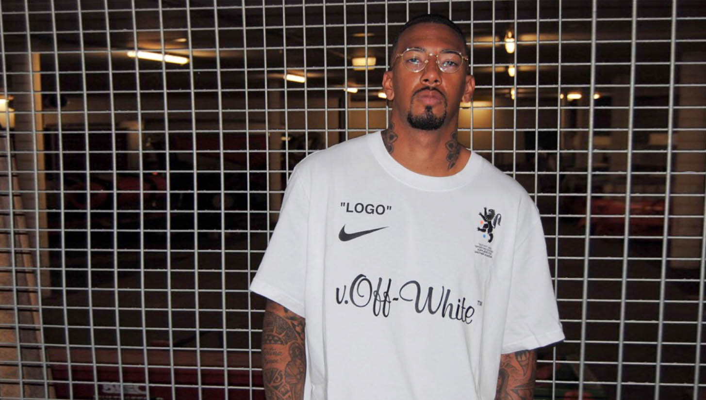 7260e9fdc Jerome Boateng Reveals New Nike x Off-White World Cup Collection