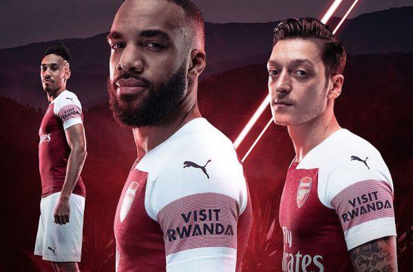 Arsenal Partner with 'Visit Rwanda' as Their First-Ever Sleeve Sponsor