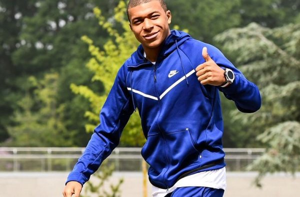 Kylian Mbappe Steps Out Wearing Skepta's New Nike SkAir Sneaker