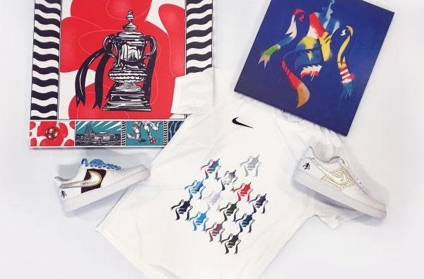 Poet and Rebecca Judd Have Designed Their Own FA Cup-Themed Air Force 1