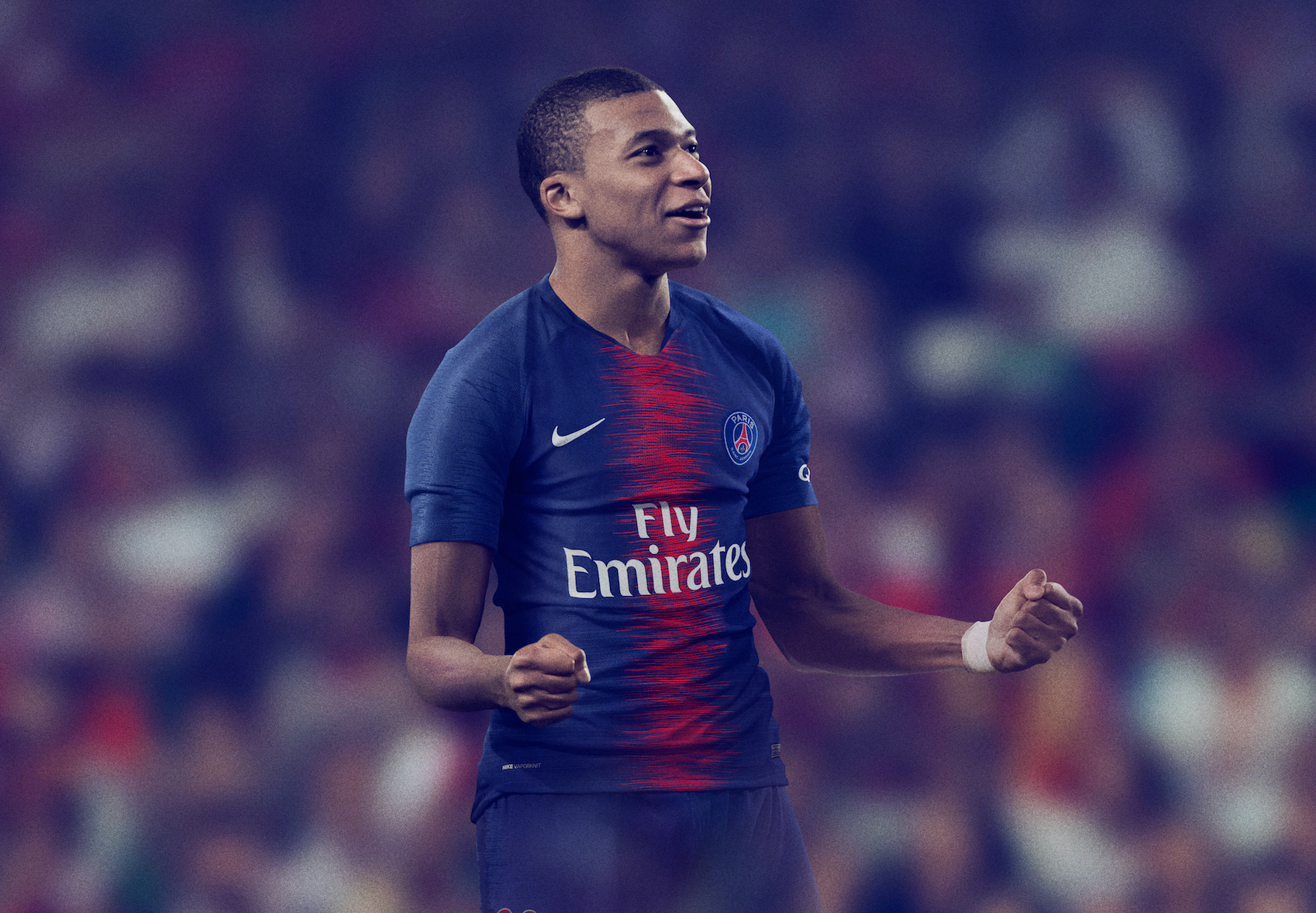 quality design f07be cf051 Nike Reveals Electric New Home Kit for Paris Saint-Germain