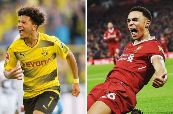 Jadon Sancho and Trent Alexander-Arnold Just Emerged as Shock Contenders for England's World Cup Squad