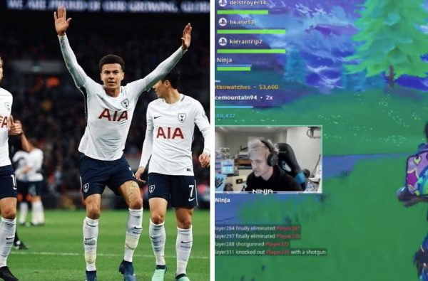 Dele Alli Jumped on Twitch Again Last Night and Brought Harry Kane and Ninja with Him