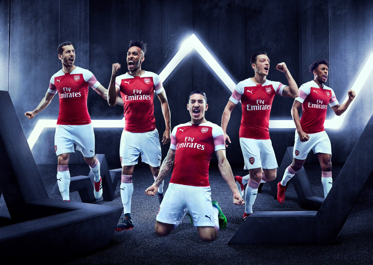 96064bb3a PUMA Just Dropped Arsenal s New 2018 19