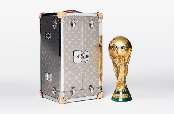 Louis Vuitton Reveals the Ultra-Luxe Official 2018 FIFA World Cup Trophy Case