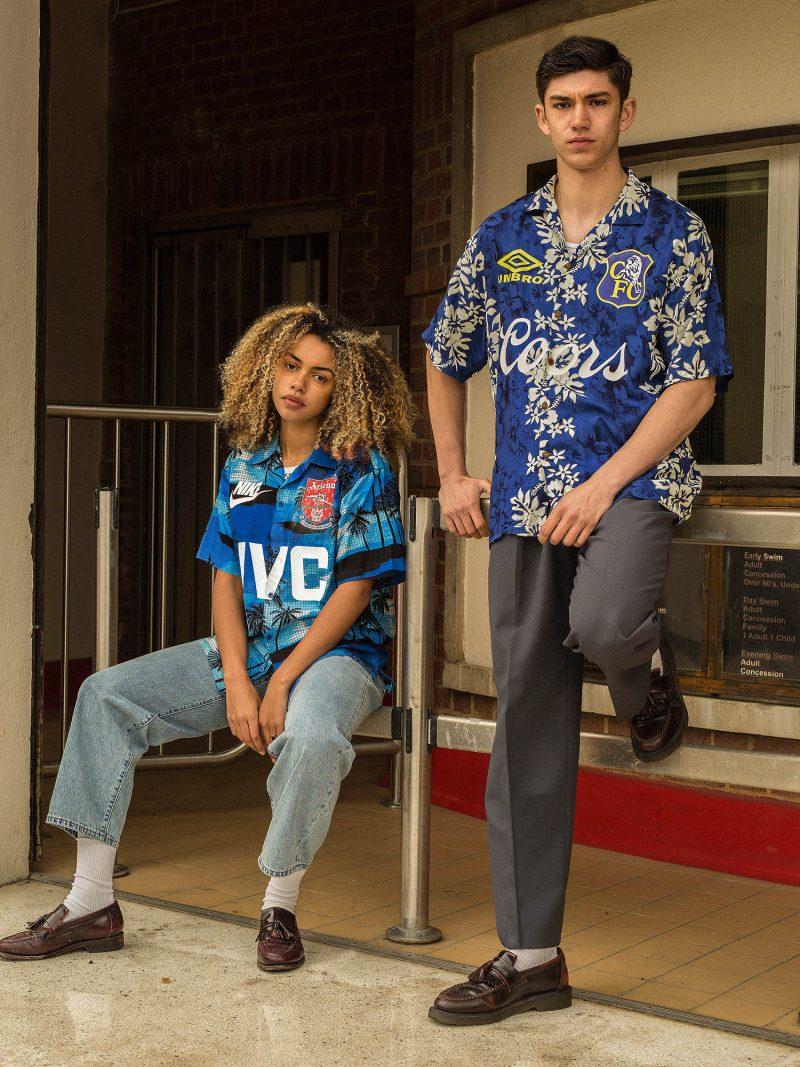 Own Fan Club Fuse Iconic 90's Kits with Hawaiian Shirts in New 'Post  Season' Lookbook