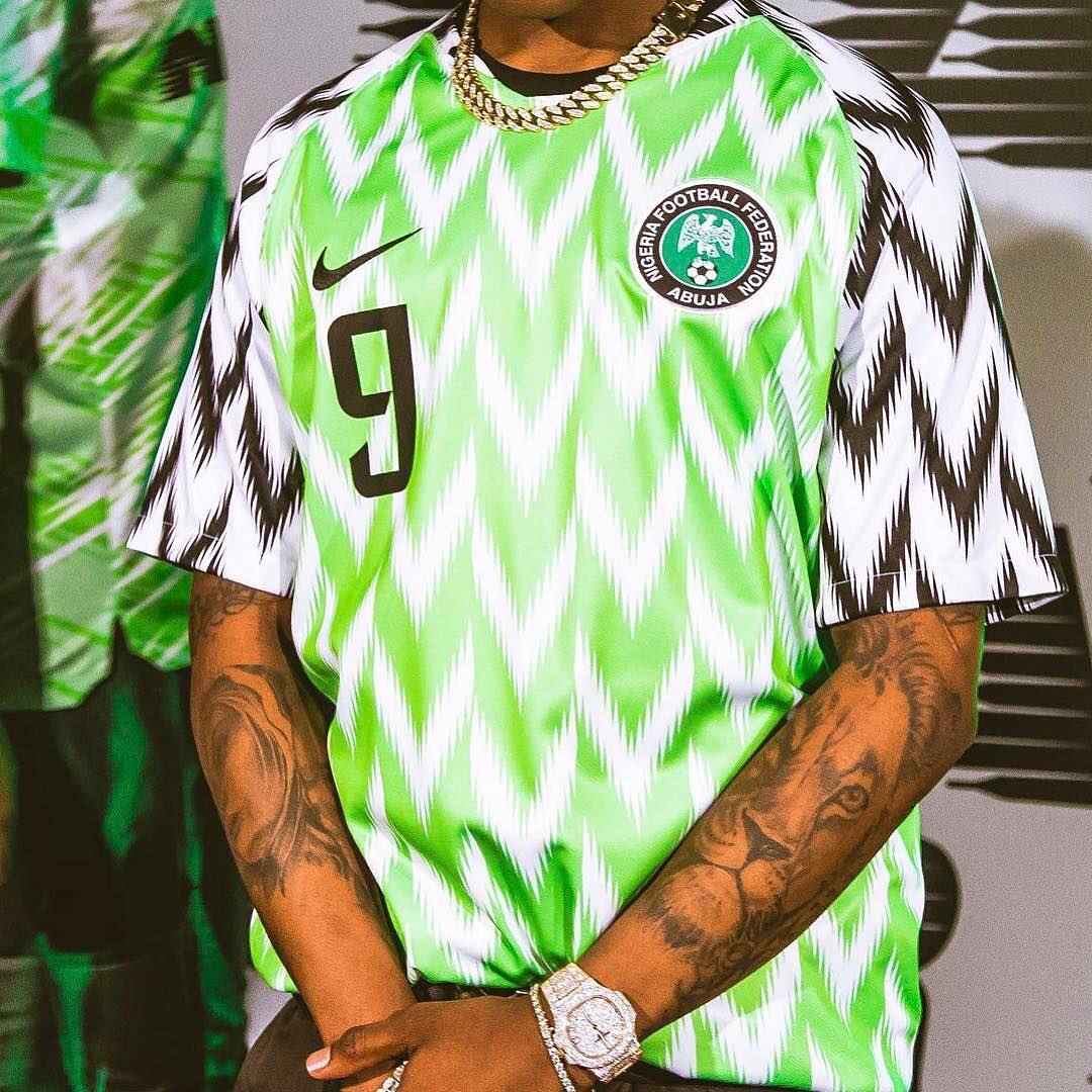 eb924e4997f Nigeria's Sold out Nike Jersey Is Reselling for Three Times Its Price