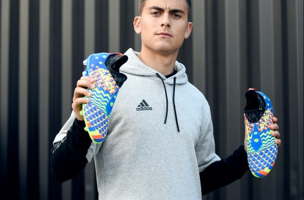 adidas Football Drop Bold New GLITCH 2.0 World Cup Pack with Dybala and Mendy