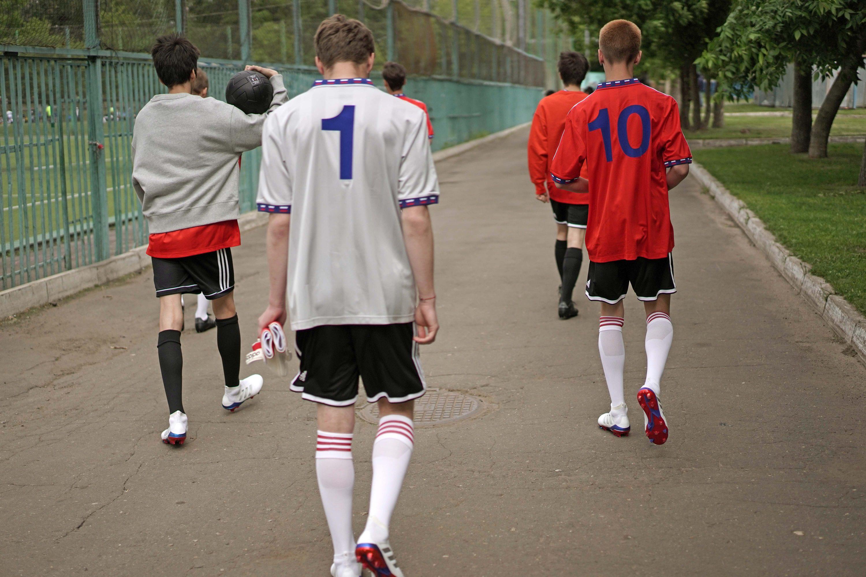2487cc195 Image via adidas. Gosha Rubchinskiy and adidas Football have just dropped  their World Cup ...