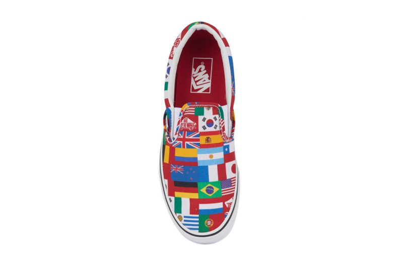 ef8dc3f21c Vans Celebrate the World Cup by Covering Their Classic Slip-On in ...