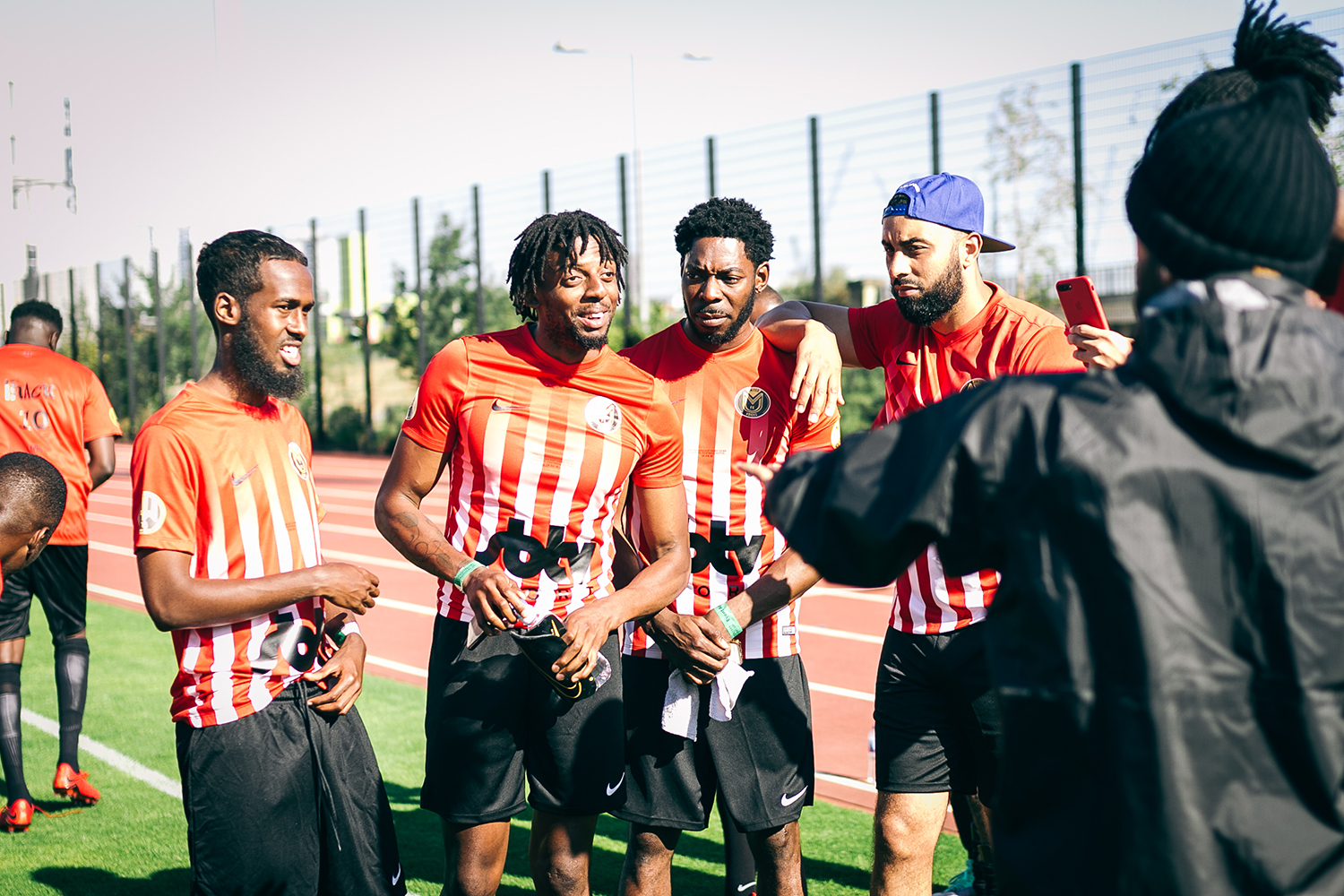 UK Rap United Against Knife Crime for a Charity Football Match