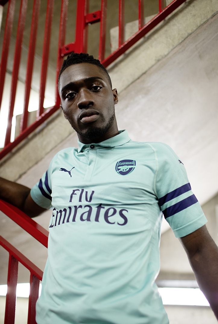 official photos 9eed7 6fd6e PUMA Unveil Arsenal's Mint Fresh Third Kit for 2018/19