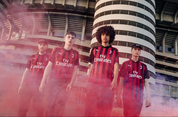 PUMA Just Dropped AC Milan's Street-Ready Home Kit for 2018/19