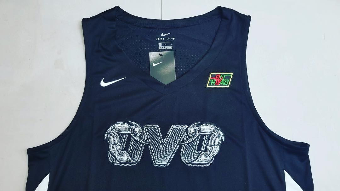 buy online 2b177 e3865 Drake has Teased an OVO x Nike Basketball Jersey
