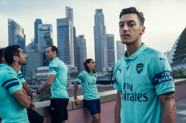 PUMA Unveil Arsenal's Mint Fresh Third Kit for 2018/19