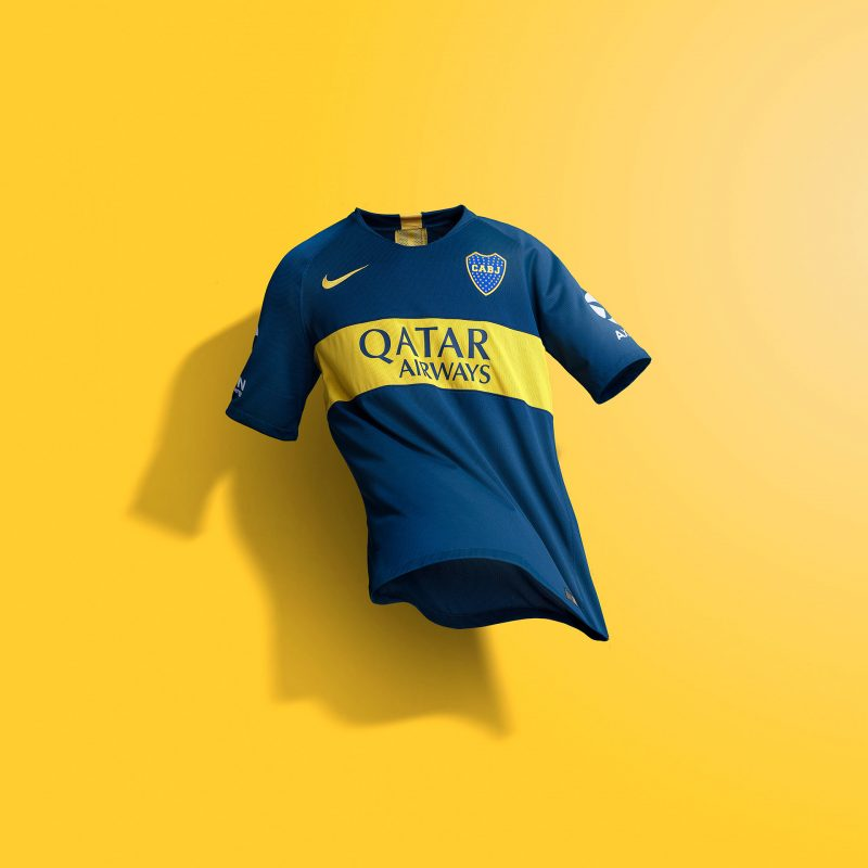 d89407c70 Boca s classic blue and gold colourway runs across the club s iconic home kit  design that unites  xeneizes  all over the world.