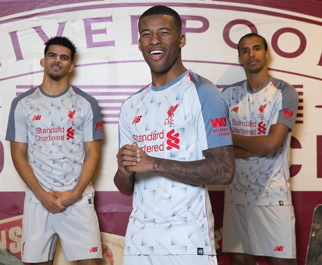 9b57b3f2417 New Balance Unveil 80s-Inspired Liverpool Third Kit for 2018 19