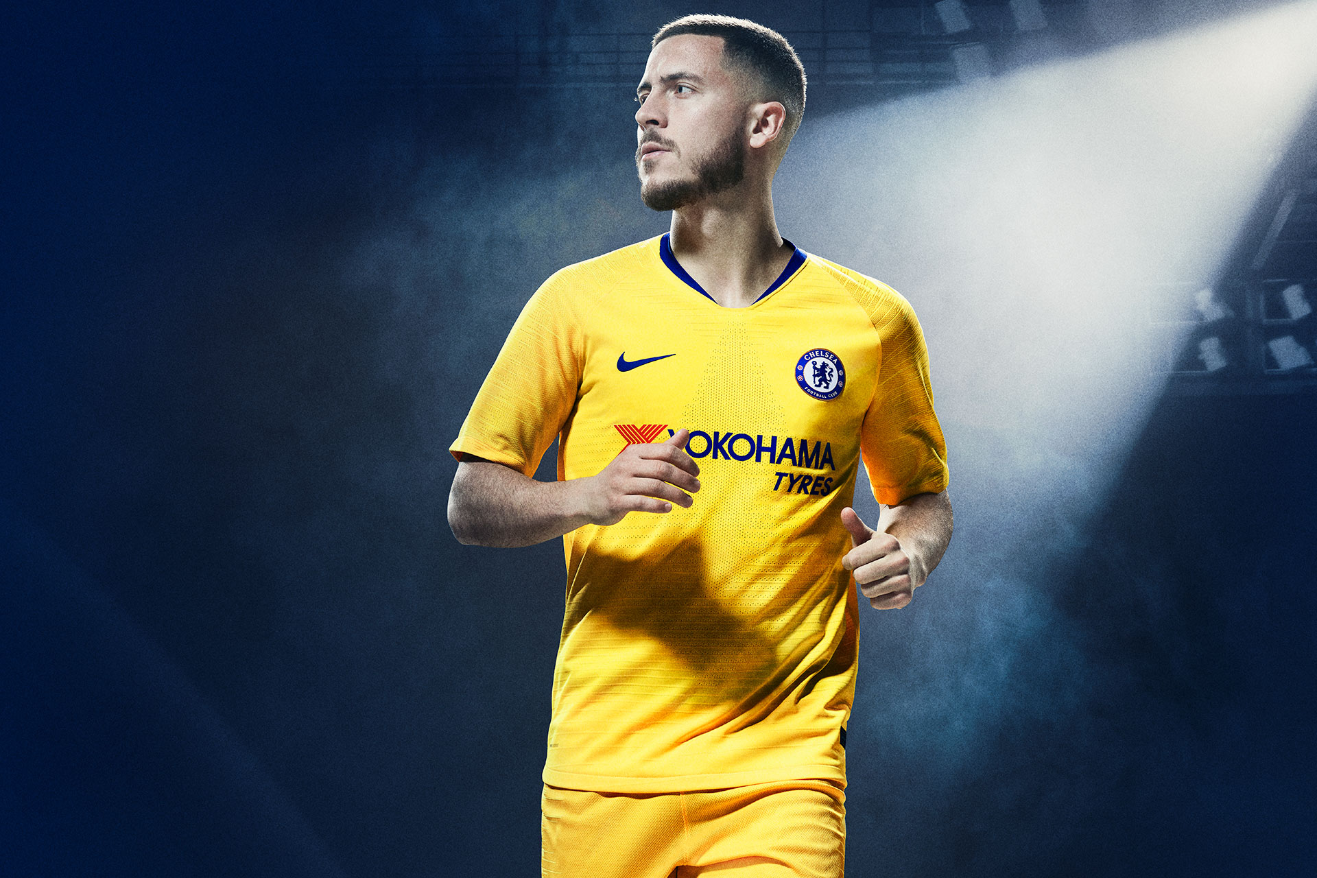 new style 51c7a a9976 Nike Unveil Chelsea's 'Classic Yellow' 2018/19 Away Jersey