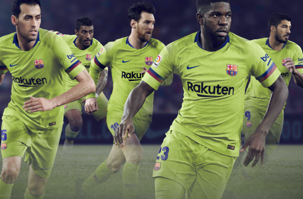 Barcelona's Electric New Away Kit Is Inspired by an All-Time Classic