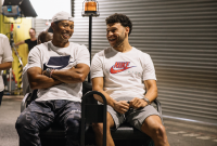 Alex Oxlade-Chamberlain and Tiger Woods Just Linked Up in London