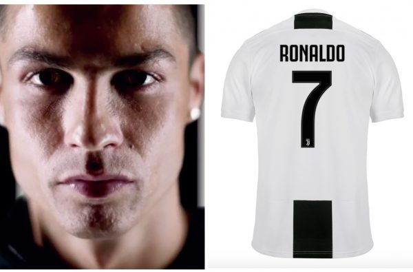 You Can Now Buy Cristiano Ronaldo's Official Juventus Shirt with His Iconic No. 7