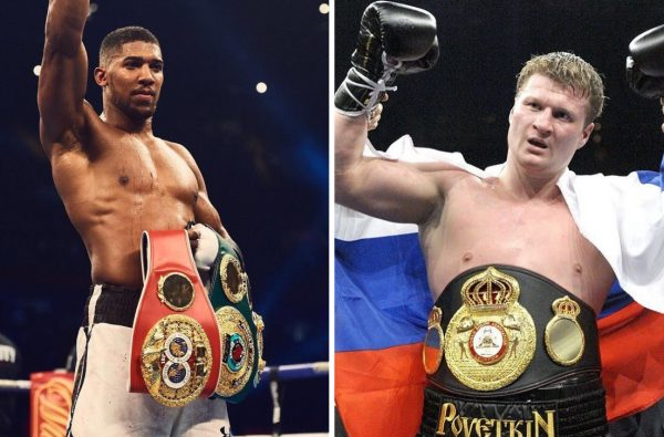 Anthony Joshua Will Officially Fight Alexander Povetkin at Wembley in September