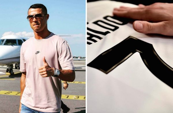 Juventus Sold 520,000 Cristiano Ronaldo Shirts in Just 24 Hours
