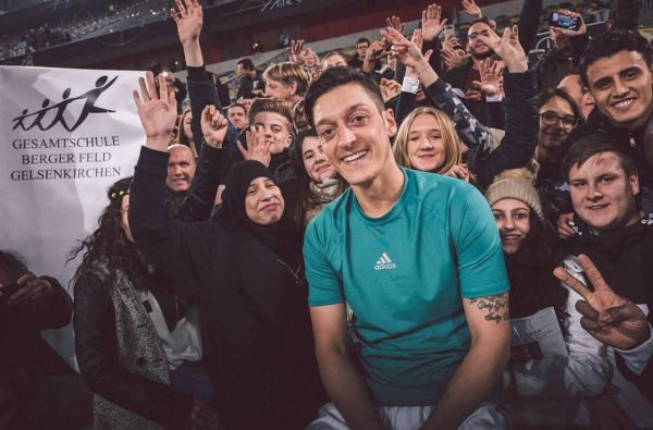Mesut Ozil Reveals He Paid for 23 Life-Changing Surgeries for Russian Children During the World Cup