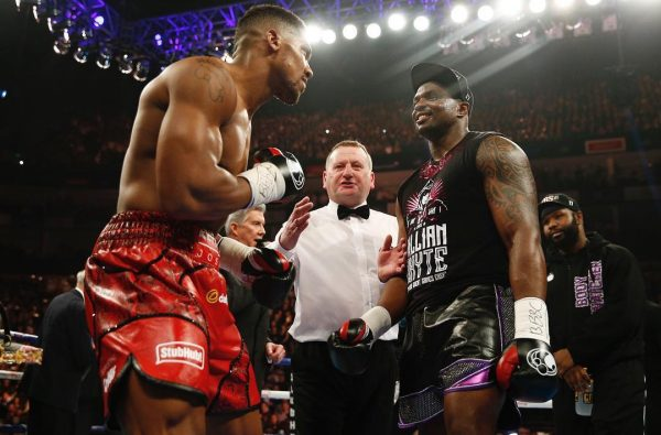 Anthony Joshua's Rematch with Dillian Whyte Is Being Lined up for Wembley