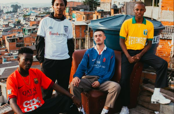 This New Editorial Takes Les Vêtements de Football to the Streets of São Paulo