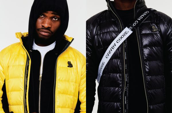 Dave Models the OVO x Canada Goose Hybridge Lite Jackets