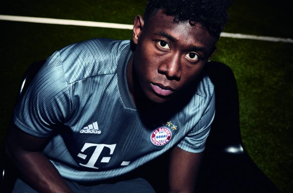 adidas Football Drop Bayern Munich's Parley Oceans Plastic Third Kit for 2018/19