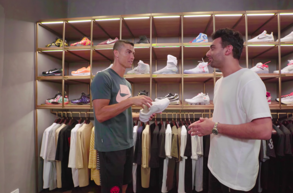 Cristiano Ronaldo Joins Complex for Latest Episode of 'Sneaker Shopping'