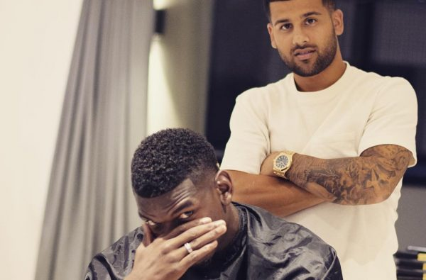 Paul Pogba's New Haircut Features France's Two World Cup Stars