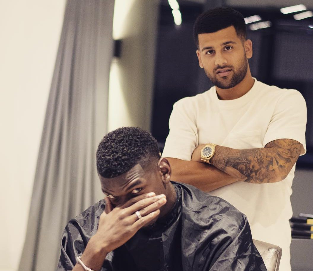 Paul Pogbas New Haircut Features Frances Two World Cup Stars