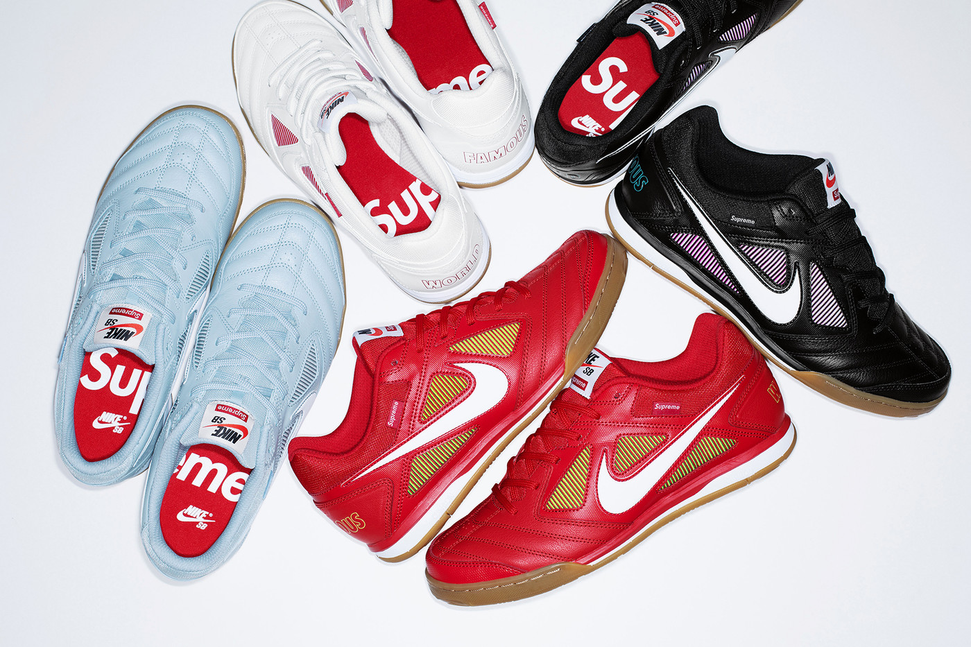 badf887bfc7c Here s How You Can Cop the Supreme x Nike SB Gato Sneaker