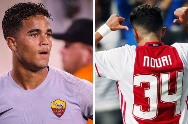 Justin Kluivert and Teammates Choose #34 Shirt in Honour of Appie Nouri