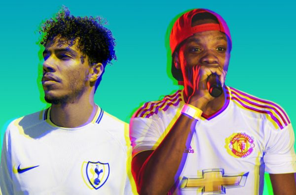 A Definitive List of the Football Teams UK Rap and Grime Artists Support