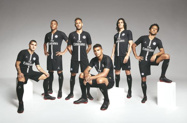 Paris Saint-Germain Unveil the First-Ever Jordan Brand Football Shirt 707b6ae8f