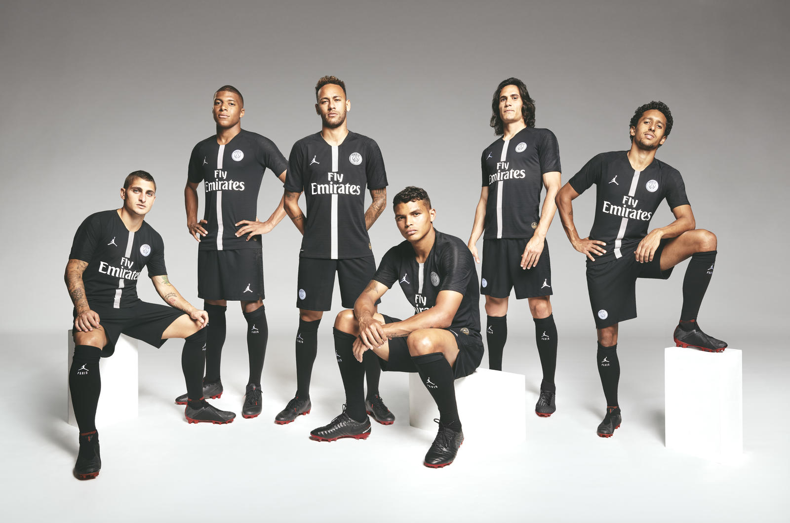 Paris Saint Germain Unveil The First Ever Jordan Brand Football Shirt