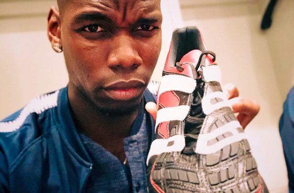 adidas Bless Paul Pogba with a Personalised Pair of Throwback Predator Accelerators