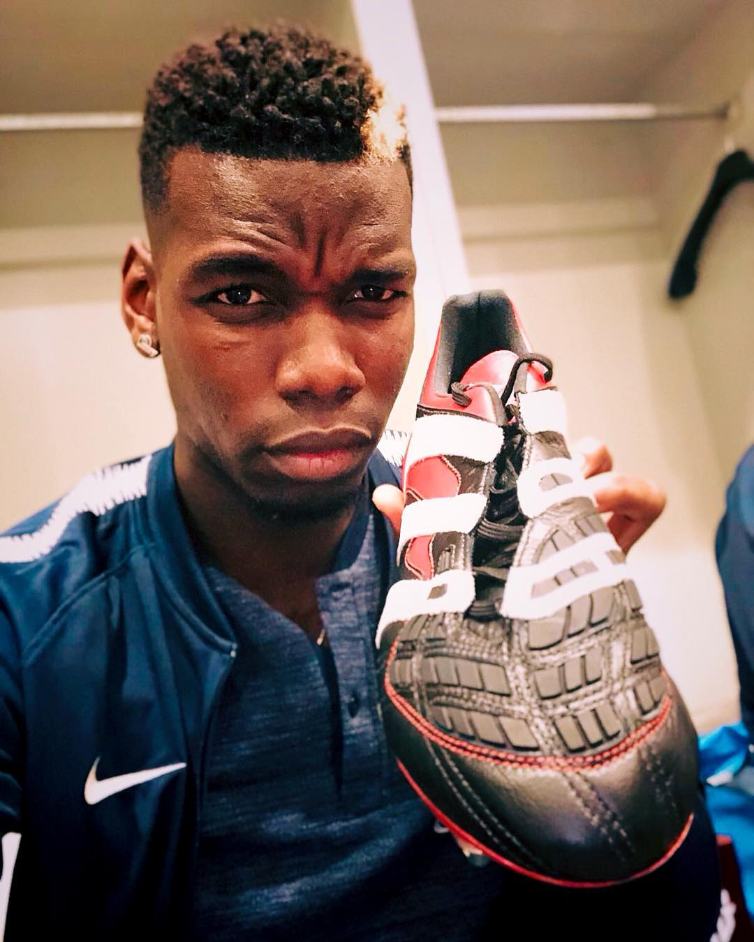 wholesale dealer 4c2cf 1ace9 adidas Bless Paul Pogba with a Personalised Pair of ...