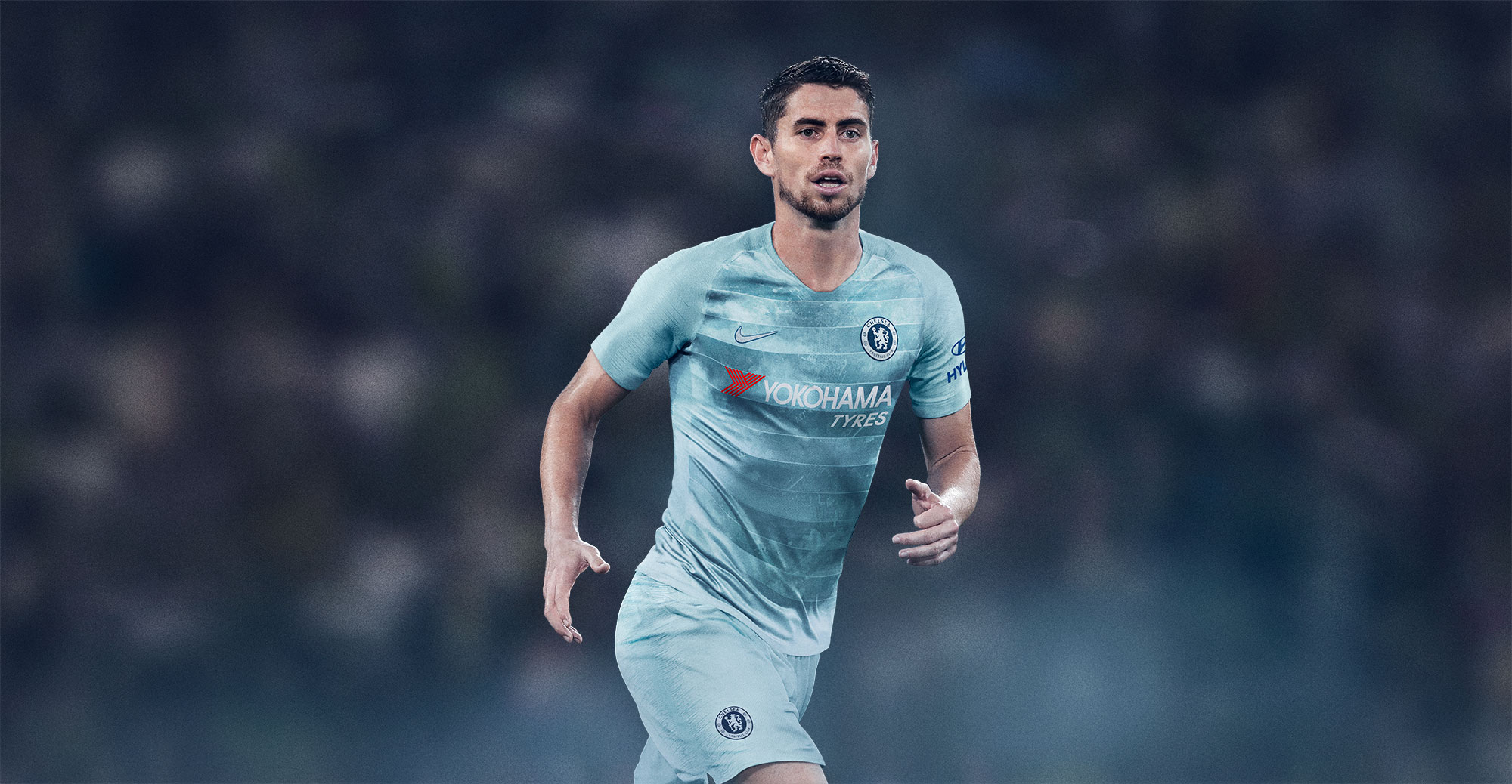Image via Nike. Nike are incorporating NikeConnect technology in Chelsea s  third kit for the 2018-19 ... 8fc691bb6