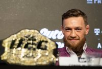 Conor McGregor Was Back to His Trash-Talking Best in His Face-Off With Khabib