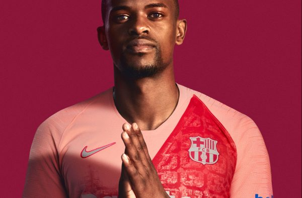 Nike and Barcelona s 2018-19 Third Kit Gets Painted in Pale Pink 750f3116f